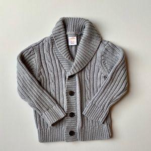 2/$25 Gymboree Toddler Boy Cardigan Sweater